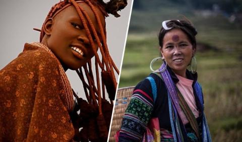 7 самых экстравагантных женских нарядов у разных народов мира