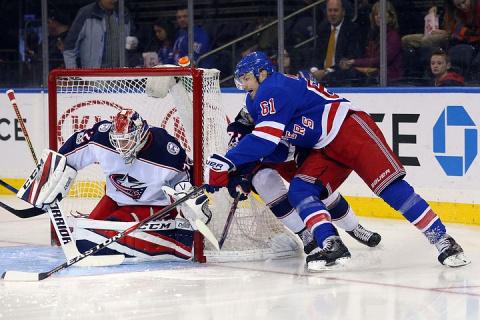 """Вратарь """"Коламбуса"""" Сергей Бобровский назван первой звездой дня в НХЛ"""