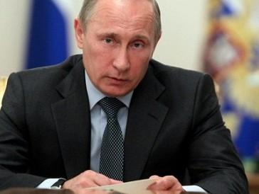 Зеленка Путина на лице народа