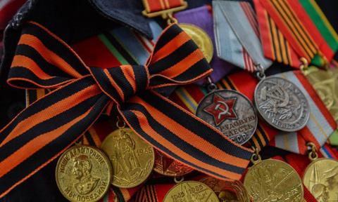 День Победы без георгиевской…