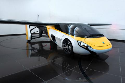 В Словакии автомобили начали летать