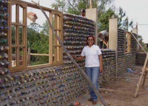 Эта женщина построила дом, и…