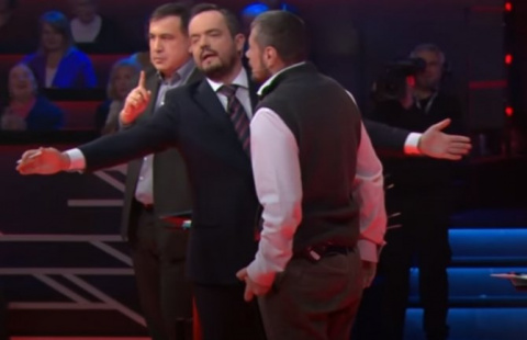 Мосийчук попытался избить Са…