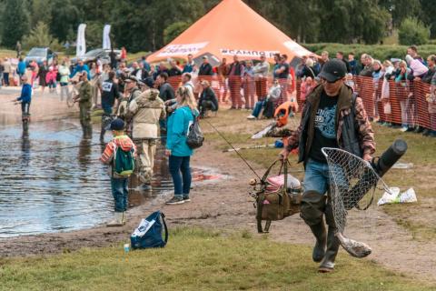 Как на «Калакунде» ловили форель: в Петрозаводске прошел рыбный фестиваль