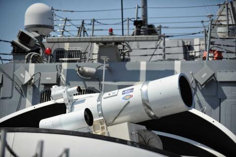 Американская лазерная пушка уничтожила летательный аппарат