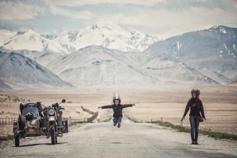 Из Европы в Монголию: Семья …