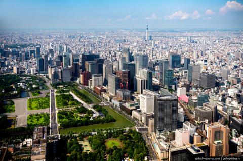 Токио с высоты: как устроена…