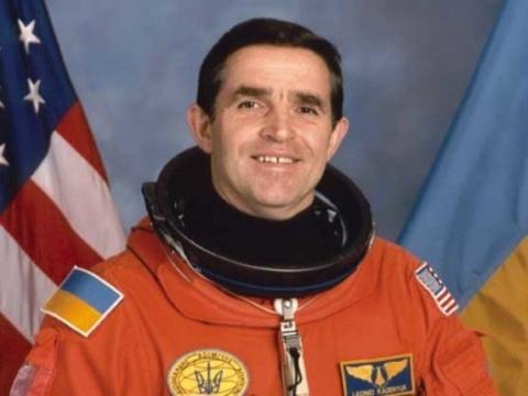 Первый украинский космонавт …