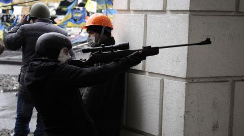 Сторонники «Майдана» расстреливали людей из подконтрольных радикалам отелей