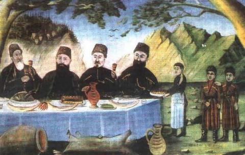 Как грузины русских оккупантов к себе зазывали