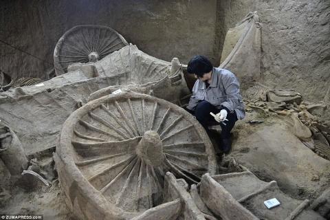 В Китае раскопали богатый мо…