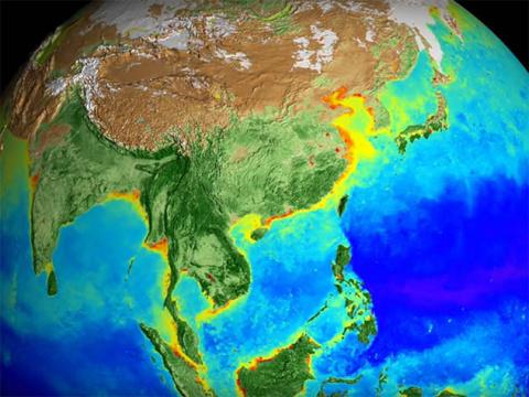NASA показало климатические …