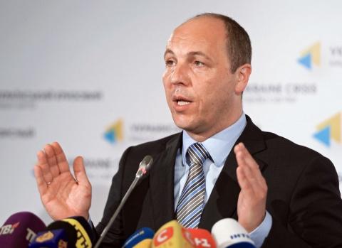 Парубий подписал законы о запрете в Украине «георгиевской ленты» и о языковых квотах на украинском телевидении