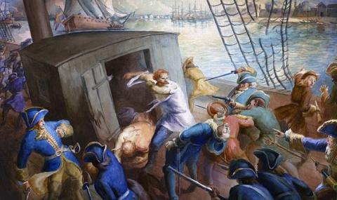 Морские Сусанины 1701 года - лоцманы Рябов и Борисов