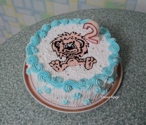 Детские тортики.