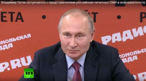 Путин ответил алкогольному л…