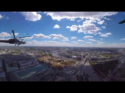 Самое зрелищное видео с репетиции Парада Победы 2017 — съемка 360 градусов