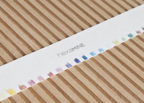 Лаконичная упаковка для карандашей