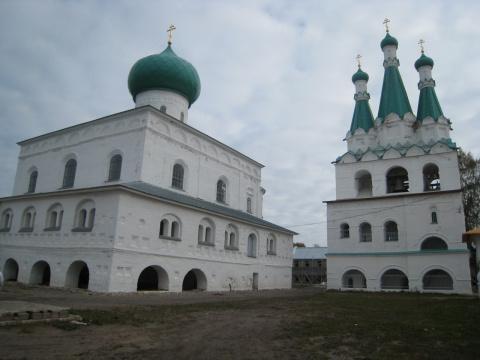 Троицкая церковь Александро Свирского монастыря
