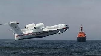 Запад просит помощи у России УНИКАЛЬНЫЙ самолёт-амфибия покорил Италию.