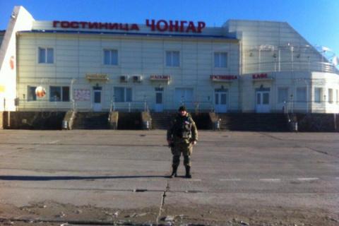 Ленур Ислямов и его радикалы разгромили гостиницу на херсонско-крымской границе Чонгар