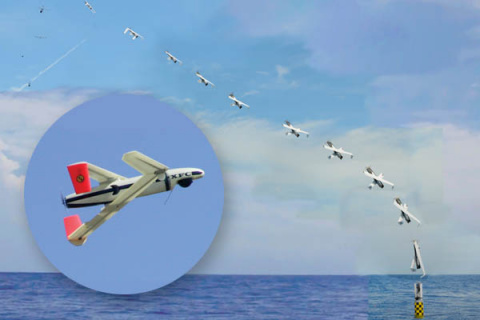 США запустили БЛА с борта подводной лодки