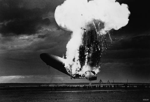 Катастрофа дирижабля «Гинденбург»