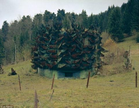 Замаскированные бункеры Швейцарии