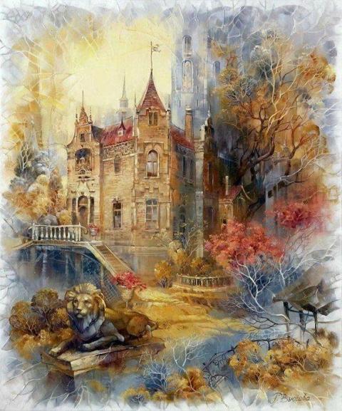 Чудесные осенние пейзажи Риммы Вьюговой