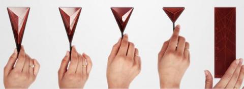 Мерная ложка-оригами