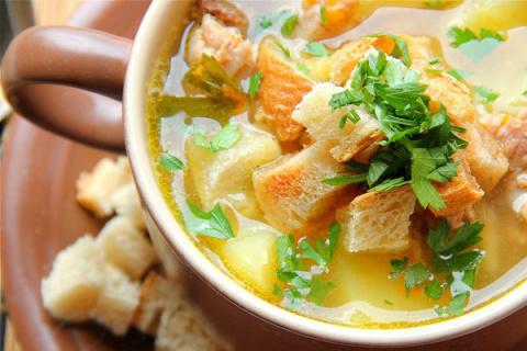 Суп «Мясной горшочек»