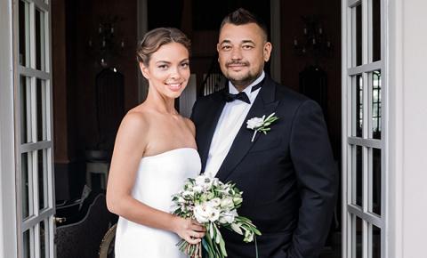 Сергей Жуков и Регина Бурд: репортаж со свадьбы на озере Комо