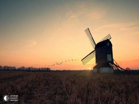 Ветряные мельницы Нидерландов.