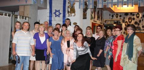 Партнеры Валери Элит в отеле Галиль, Натания, Израиль