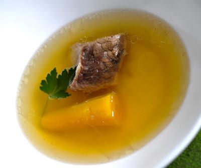 Любимый суп словенцев - говяжий...