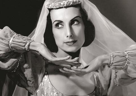 Черная жемчужина русского балета, обаявшая Хичкока и весь Голливуд