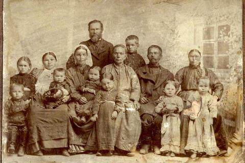 Семья в царской России. Для …