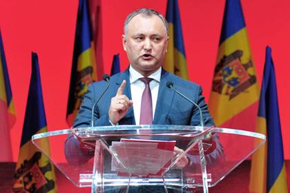 Президент Молдавии пообещал …