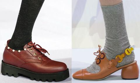 МОДНЫЕ СТРАСТИ. Обувь на шнурках