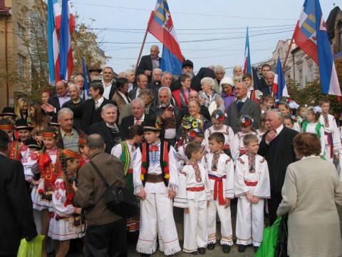 Закарпатские русины обратились к Путину