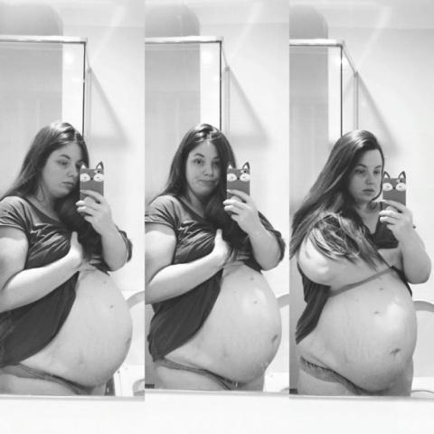 Беременная в 4-й раз женщина…