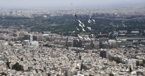В Сирии на блокпосту в Дамаске прогремел взрыв