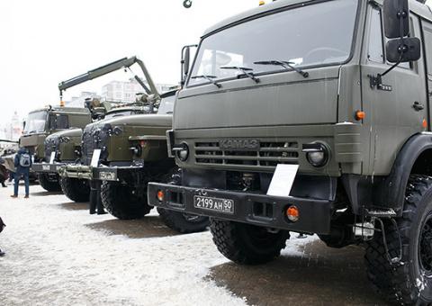 ВМосковской области сформирован новый ремонтный батальон ВДВ