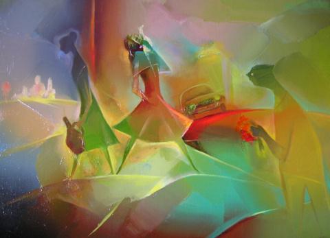 Уникальный грузинский художник Гиви Сипрошвили
