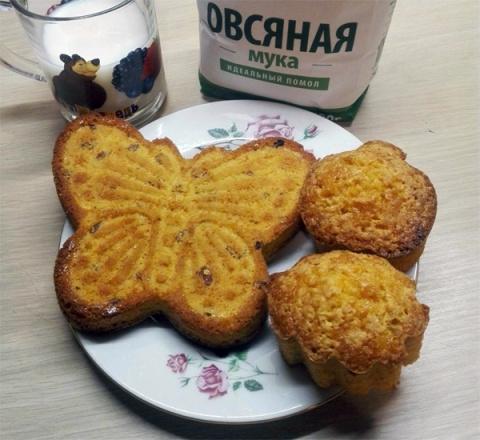 Морковно-овсяные кексы: просто, вкусно и полезно