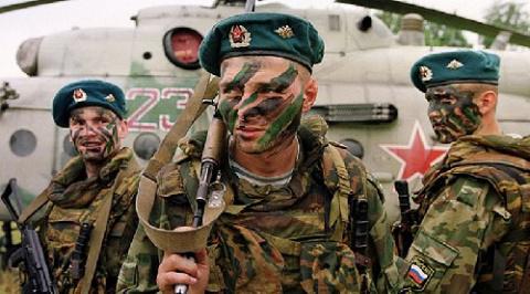 Российские десантники развер…