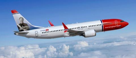 Norwegian отправила Boeing 7…