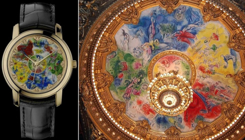Вдохновляясь известными картинами: «Художественные часы» с уникальными циферблатами