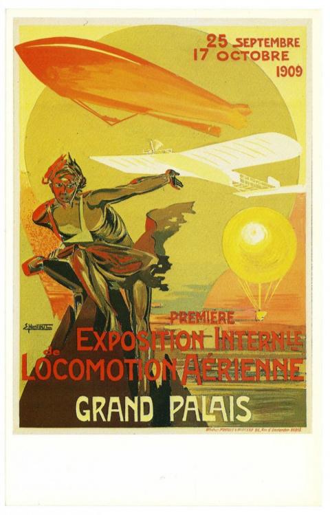Плакаты авиашоу 1909-1910 го…