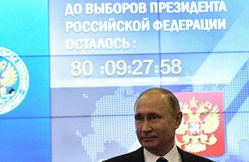 Ганапольский недоумевает - почему в избирательный фонд Путина внес деньги только один человек